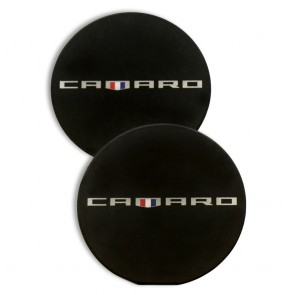 Camaro Heritage Car Coasters - Black
