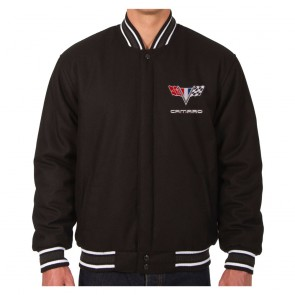 Camaro Reversible | Varsity Jacket - Black