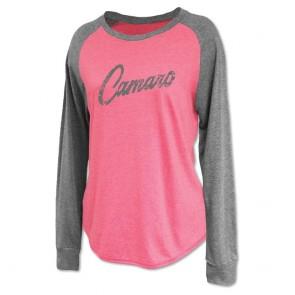 Women's Raglan Jersey | Crew - Flamingo Pink
