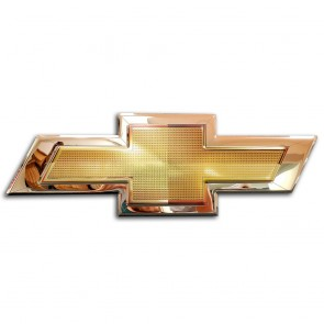 Chevrolet Bowtie | Gold Emblem Sign