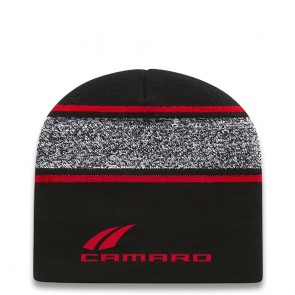 Camaro Beanie | Black/True Red