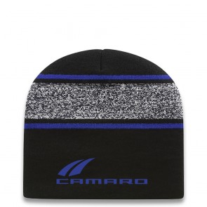 Camaro Beanie | Black/True Royal