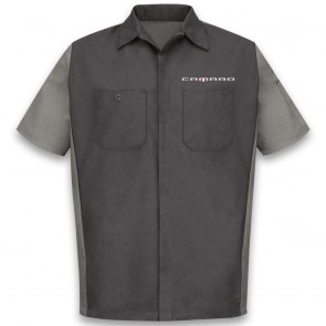 Red Kap® Two-Tone | Crew Shirt - Charcoal/Gray