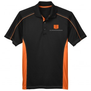 Camaro Extreme Polo | Black/Orange