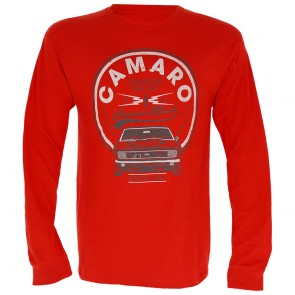 American Muscle Long Sleeve - Heather Red