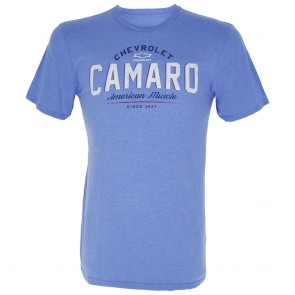 Camaro American Muscle | Tee - Heather Royal