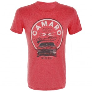 Camaro American Muscle | Tee - Heather Red