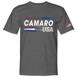 Camaro USA Made | American Original Gray Tee
