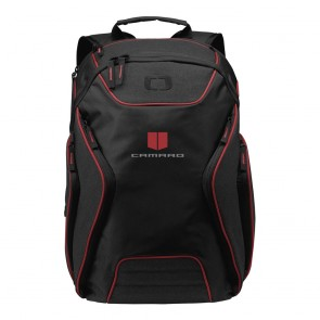 Camaro Ogio® Backpack | Red/Heather Gray