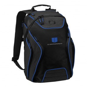 Camaro Ogio® Backpack | Blue/Heather Gray