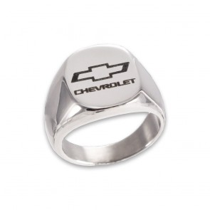 Chevy Bowtie Stainless Steel | Signet Ring