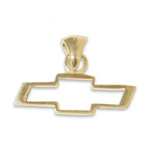 Chevy Bowtie 14k | Yellow Gold  Pendant