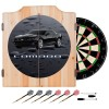 "Gen-6 ""Rain Bead"" Cabinet | Dart Board & (6) Darts"