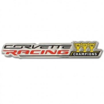 Corvette Racing | 3 Year Champions Lapel Pin