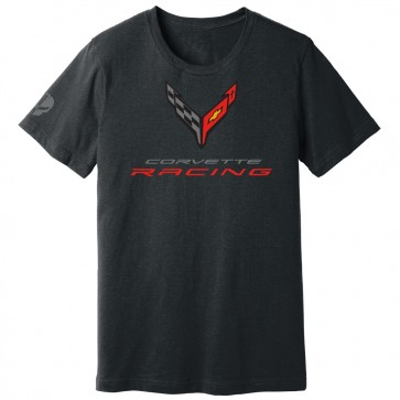 Corvette Racing C8.R | Crossed Flags Tee