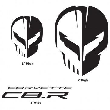 Corvette Racing C8.R | Black Decal Pack