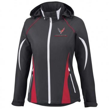 Corvette Racing   Colorblock Hooded Jacket
