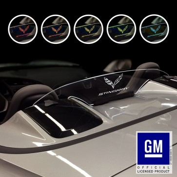 C7 Convertible Wind Deflector | C7 Flag and Stingray Signature