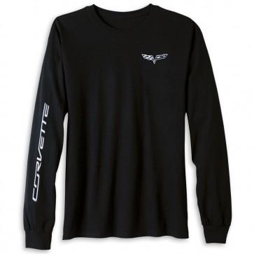 C6 Corvette Long Sleeve Tee | Black