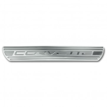 C6 Corvette Doorsill Plates | Chrome