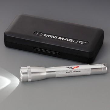 C6 Corvette Mini Maglite - Silver