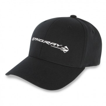 Corvette Stingray Flexfit Cap | Black