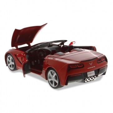 1:24 Scale C7 Corvette   Red Convertible Die Cast