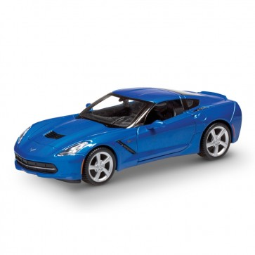 1:24 Scale C7 Corvette | Blue Coupe Die Cast