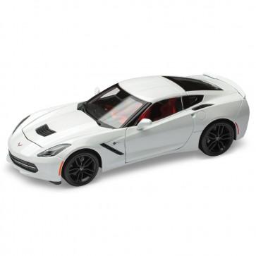 1:18 Scale Corvette Stingray | White Die Cast