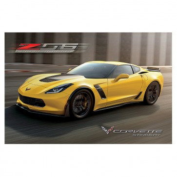 Corvette Z06 Supercharged Poster