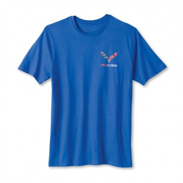 Corvette Z06 Tee | Heather Blue