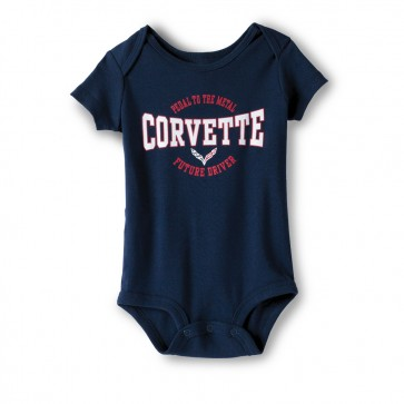 C7 Corvette Youth Onesie | Navy