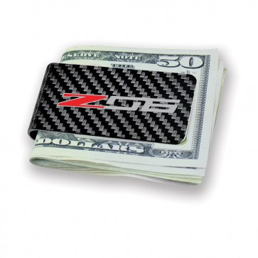 Z06 Carbon Fiber Money Clip | Black