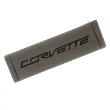 Corvette Seatbelt Harness Cushion - Charcoal