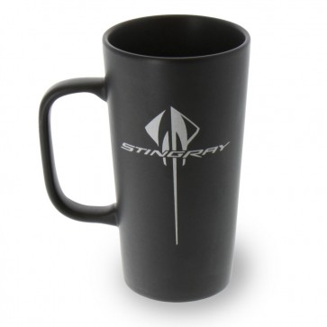 Stingray Latte Mug | Black-Matte