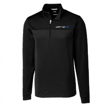 Cutter & Buck ZR1 Traverse Quarter-Zip - Black