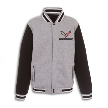 C7 Reversible Varsity Jacket | Gray/Black