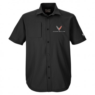 2020 Corvette | Under Armour® Button-Down