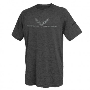 Grand Sport Performance Tee | Graphite