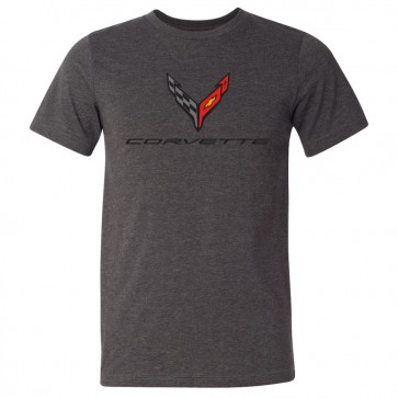 C8 Corvette | Crossed Flags Tee