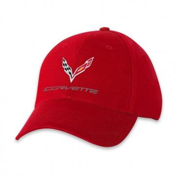 C7 Corvette USA Made | Red Cap