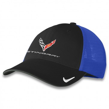 C8 Nike® Fitted Cap - Black/Royal