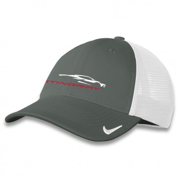 C8 Nike® Fitted Cap - Gray/White
