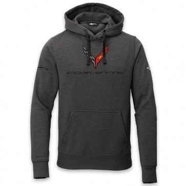 C8 Corvette North Face® | Hooded Pullover - Black
