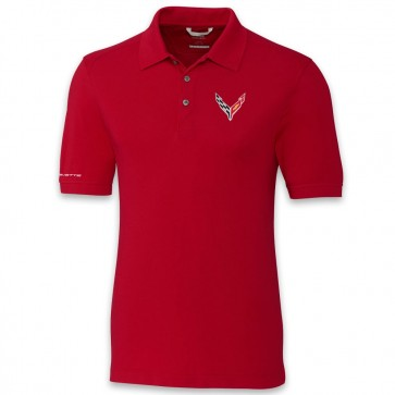 C8 Cutter & Buck | Advantage Polo - Red