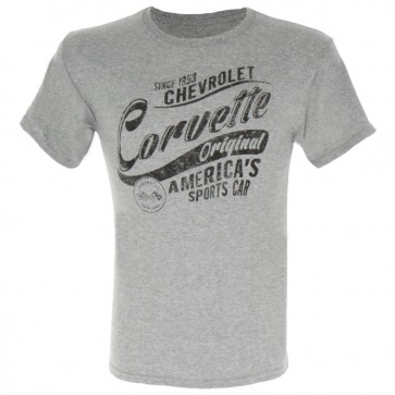 Chevrolet Corvette Original | Tee - Heather Gray