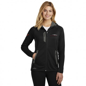 C8 Corvette Eddie Bauer® | Ladies Hooded Fleece