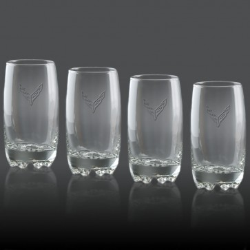 C8 Corvette | 14 oz Glassware Set