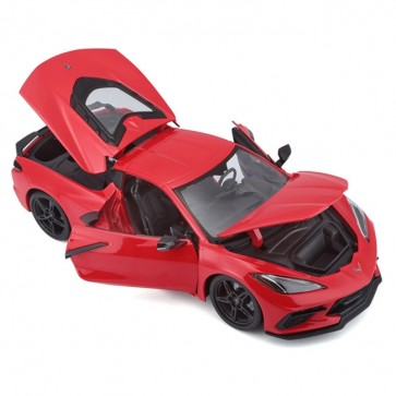 1:18 Scale 2020 Corvette | Stingray - Torch Red