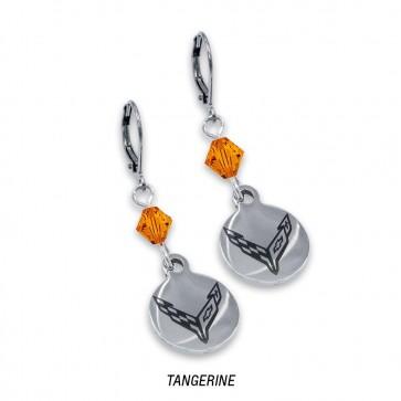 C8 Corvette Swarovski | Crystal Earrings